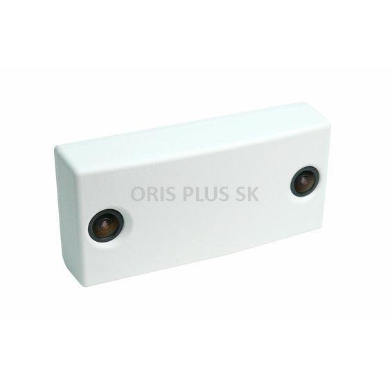 3D pocitadlo zakaznikov OrisPlus biele